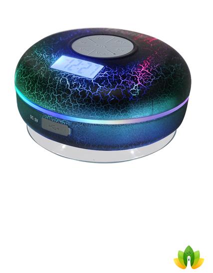 Hrome Bluetooth Shower Speaker Ipx7 Waterproof Bathroom Speakers