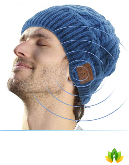 Tenergy Wireless Bluetooth Beanie Hat with Detachable Stereo Speakers    Microphone 847baaaea16f